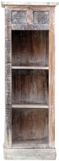 Narrow solid wood shelf with carvings Jh17-007