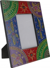 Hand painted picture frame to stand - Design 4S