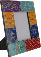 Hand painted picture frame to stand on - Design 3S