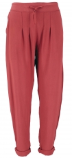 Narrow trousers, pencil trousers, summer trousers- rust red