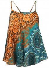 Boho top with straps..