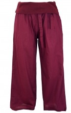 Goa Wellness Yogahose Hippie Hose - bordeaux