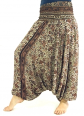 Light harem pants Pluderhose Pumphose Aladdin pants - brown