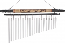 Aluminium sound-chime, exotic wind chime with carving - variant 2