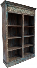 Lavishly decorated bookcase in vintage look - model 12