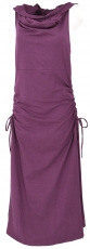 Changeable Goa dress, Psytrance Festival dress - plum