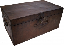 Old tin case antique metal case - Model 1