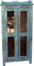 Glass cabinet, glass showcase, kitchen cabinet - model 4