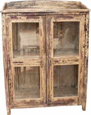 Glass cabinet, glass showcase, kitchen cabinet - model 12