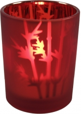 Bamboolight Lantern - red