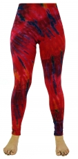 Batik Leggings - pink