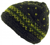 Beanie cap, knitted cap - olive green