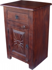 Side cabinet, chest of drawers, bedside cabinet in colonial style