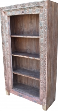 Lavishly decorated bookshelf in vintage look - Model 15