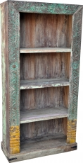 Lavishly decorated bookcase in vintage look - Model 25