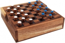 Board game, wooden parlour game - Checkers