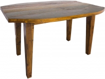 dining table, kitchen table made of recycled teak