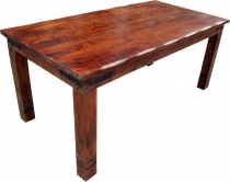 Dining table with round edges + fitting R509 dark - model 1