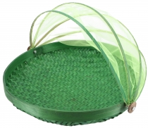 Fly protection fruit basket in 3 sizes - green