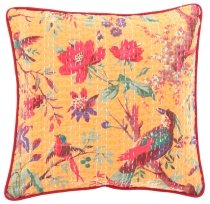 cushion cover, cushion cover with ethno pattern `Paradise` - yell..