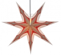 Foldable Advent light paper star, Christmas star 60 cm - Atlantis
