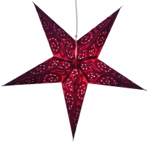 Foldable Advent light paper star, Christmas star 60 cm - Artemis ..