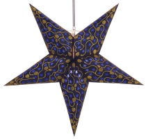 Foldable Advent illuminated paper star, Poinsettia 60 cm - Luna b..