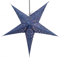 Foldable Advent illuminated paper star, Poinsettia 60 cm - Astor ..