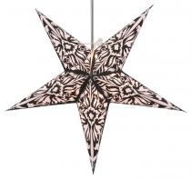 Foldable Advent light paper star, Christmas star 60 cm - Andel Bl..