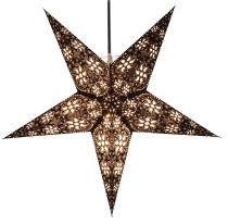 Foldable Advent light paper star, Christmas star 60 cm - Anubis b..
