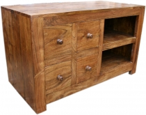 TV cabinet chest of drawers, sideboard in solid wood - Model 2
