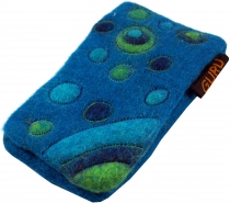 Felt mobile phone bag Retro in 7 colors