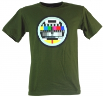 Fun T-Shirt `Test Picture` - green