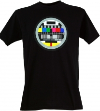 Fun T-Shirt `Test Picture` - black