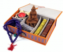 Gift box Tibet, travel altar