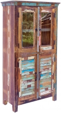 Glass cabinet in lamellar look - Model 21