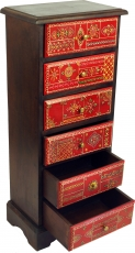 Hand-painted drawer cabinet - Model 13