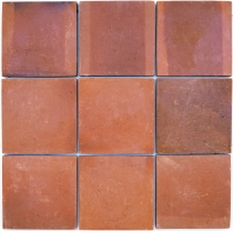 Handmade Terracotta Tiles 30*30cm 1 Package = 8 tiles or 0.72m2