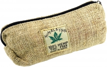Hemp pencil case, Ethno pencil case