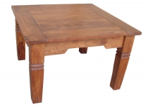 Light Brown Square Coffee Table - Model 7