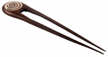 Wood Hair Clip, Hairpin No. 20