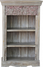 Elaborately decorated bookcase in vintage look - model 34