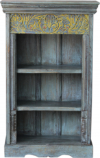 Elaborately decorated bookcase in vintage look - model 36