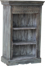 Elaborately decorated bookcase in vintage look - model 35