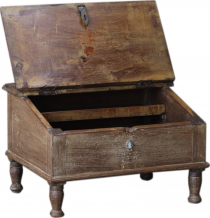 Floor writing desk, small folding writing desk - model 23