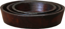 Wooden bowl `Jhodpur` 3èr set