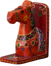 Bookend `horse` - orange