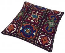 Kelim cushion cover `cashmere`, embroidered cushion cover, wool d..