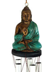 Sound play with Buddha turquoise