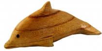 Small wooden dolphin